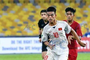 Tiền vệ U.16 Việt Nam thề tiếp tục chiến đấu dù hy vọng rất mong manh