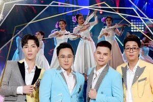 Lộ diện 4 nam ca sĩ được khen là 'F4 của Việt Nam'