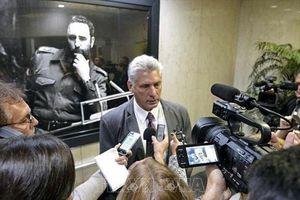Đến Mỹ lần đầu tiên, Chủ tịch Cuba khẳng định tiếp tục sự nghiệp cách mạng