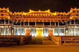 Thừa Thiên-Huế đầu tư hơn 27 tỷ đồng chiếu sáng mỹ thuật Hoàng thành