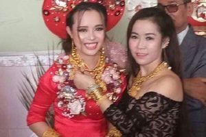 Cô dâu Kiên Giang được trao 129 cây vàng làm của hồi môn: Chú rể là người ngoại quốc