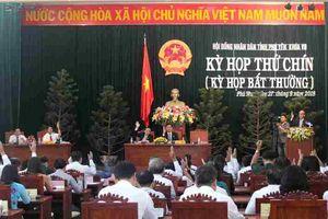 Phú Yên: Khai mạc kỳ họp thứ 9, Hội đồng nhân dân khóa VII 