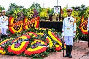 Chủ tịch nước Trần Đại Quang về với đất Mẹ