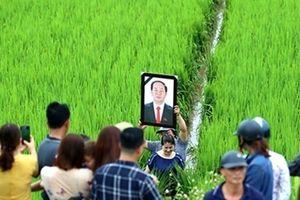 Những hình ảnh xúc động trong ngày tiễn đưa Chủ tịch nước Trần Đại Quang