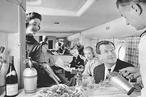 Cận cảnh các khoang hạng sang trên máy bay những năm 1940-1970