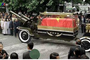 Tiễn đưa Chủ tịch nước Trần Đại Quang về quê hương Ninh Bình