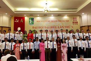 312 đại biểu dự Đại hội đại biểu Hội Người mù TP Hà Nội nhiệm kỳ 2018-2023