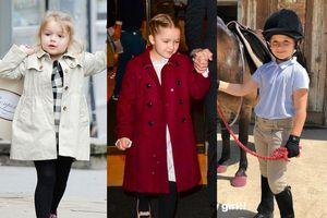 Phong cách thời trang của Harper Beckham thay đổi thế nào?