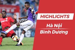 Highlights CLB Hà Nội 2-0 CLB Bình Dương: Samson tỏa sáng
