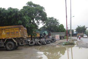 Quốc lộ 21B đi qua huyện Ứng Hòa: Cung đường nguy hiểm