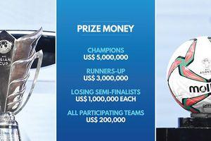 Chưa đá Asian Cup, đội tuyển Việt Nam đã nhận hơn 4 tỷ đồng