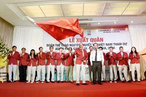 Đoàn thể thao người khuyết tật Việt Nam xuất quân dự Asian Para Games