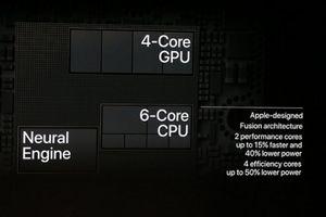 Sốc với chi tiết lượng bóng bán dẫn trên 'siêu chip' A12 Bionic