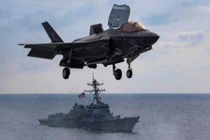 Chiến thần F-35 của Mỹ 'ra mặt' lần đầu tiên tại Afghanistan