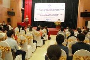 Phát triển công tác phục hồi chức năng Việt Nam
