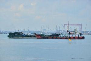 Diễn tập tìm kiếm cứu nạn hàng hải vùng cảng biển Quảng Ngãi