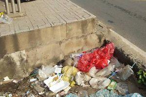 TP HCM: Trạm xe buýt như... bãi rác!