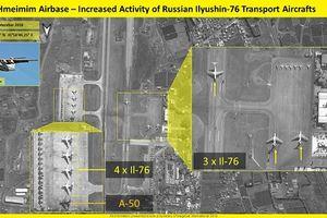 Nga tăng cường khoảng 30máy bay chiến đấu tại Syria sau vụ Il-20 bị bắn rơi