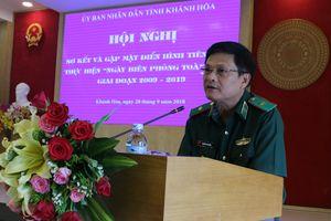 Khánh Hòa: Xây dựng khối đại đoàn kết toàn dân vững chắc ở khu vực biên giới biển