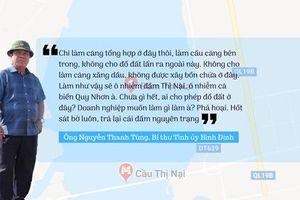 Bí thư Tỉnh ủy Bình Định nói hành vi lấp đầm Thị Nại là phá hoại