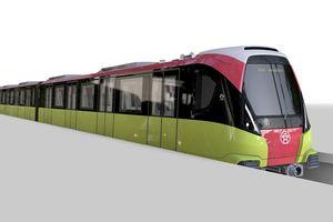 Đoàn tàu Metro Nhổn - ga Hà Nội sẽ có màu đặc trưng nông sản Việt