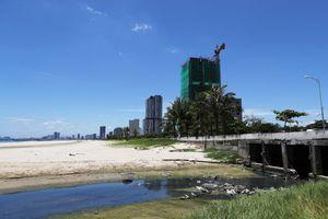 Công trình xả thải chui ra biển lại bị phát hiện nâng phòng trái phép