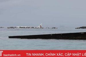 Máy bay chở 47 người rơi xuống biển ở quốc đảo Micronesia