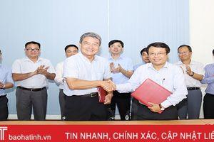 Hà Tĩnh - Top Pro Steel ký ghi nhớ đầu tư nhà máy sản xuất sản phẩm sau thép tại Vũng Áng