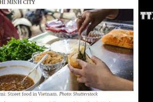 TP. HCM lọt tốp nơi có thức ăn đường phố hấp dẫn nhất châu Á