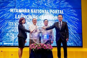 Myanmar vận hành Cổng thông tin quốc gia đầu tiên do FPT triển khai