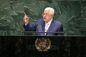 Palestine phản đối Mỹ làm trung gian duy nhất trong tiến trình hòa bình Trung Đông
