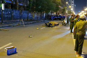 Hà Nội: Khởi tố vụ thanh sắt rơi xuống đường khiến 2 người thương vong