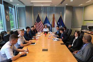 Trao đổi kinh nghiệm an ninh hàng hải tại Mỹ