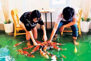 Quán cà phê 'cá rỉa chân' ở Sài Gòn trên báo Mỹ