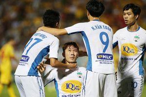 Công Phượng, Minh Vương giúp HAGL trụ hạng trước 2 vòng đấu