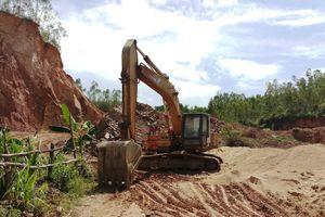 Tiếp bài Núi Thơm ở xã Bình Hòa, huyện Tây Sơn (Bình Định) bị 'xẻ thịt': Xã Bình Hòa 'bỏ lơ' công tác quản lý về mặt Nhà nước!