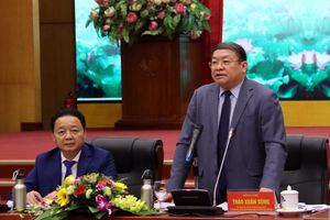 Hội Nông dân Việt Nam và Bộ TN&MT phối hợp chặt chẽ nhằm hạn chế thiệt hại do lũ ống, lũ quét