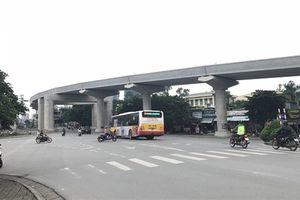 Tuyến metro Nhổn - Ga Hà Nội mới chỉ đạt 45% tiến độ