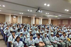 Gần 1.000 lao động cư trú bất hợp pháp tại Hàn Quốc tự nguyện về nước