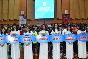 Khai mạc Giải Cầu lông Học sinh - Sinh viên TP Hà Nội tranh Cúp báo Tuổi trẻ Thủ đô lần thứ V