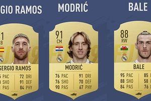 Đội hình đẹp như mơ của Real Madrid trong FIFA 19