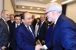 Thủ tướng Nguyễn Xuân Phúc mời gọi các tập đoàn tỷ USD của Mỹ đầu tư vào Việt Nam