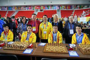 Tuyển cờ vua Việt Nam thi đấu không tốt tại Olympiad