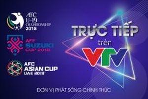 VTV chính thức có bản quyền ba giải bóng đá lớn