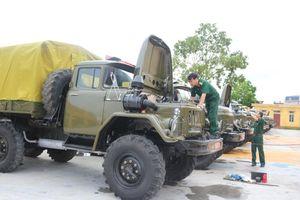 Nghiên cứu quy hoạch, đồng bộ và cải tiến xe - máy quân sự