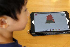Trẻ em Nhật được tiếp xúc với công nghệ từ nhỏ