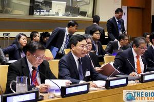Những hình ảnh Phó Thủ tướng Phạm Bình Minh bên lề Phiên thảo luận cấp cao ĐHĐ LHQ