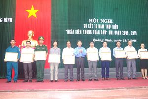 Quảng Bình: Phát huy sức mạnh của hệ thống chính trị thực hiện tốt 'Ngày Biên phòng toàn dân'