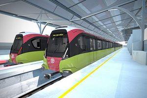 Tàu đường sắt Nhổn - ga Hà Nội lăn bánh từ năm 2020
