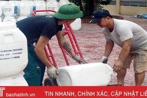 Hỗ trợ 40 tấn hóa chất sát trùng Chlorine phòng chống dịch bệnh thủy sản